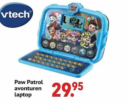 De Kinderplaneet Paw Patrol Avonturen Laptop