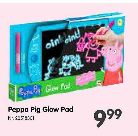 Fun Peppa Pig Glow Pad