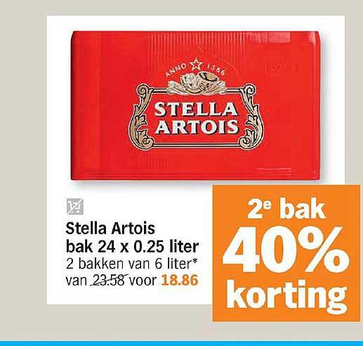 Albert Heijn Stella Artois Bak