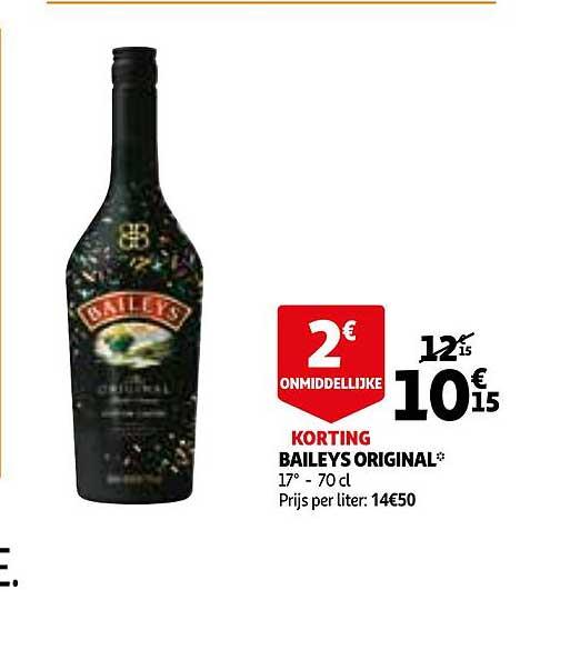 Auchan Baileys Original