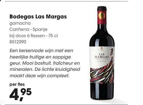 Hanos Bodegas Las Margas Wijn