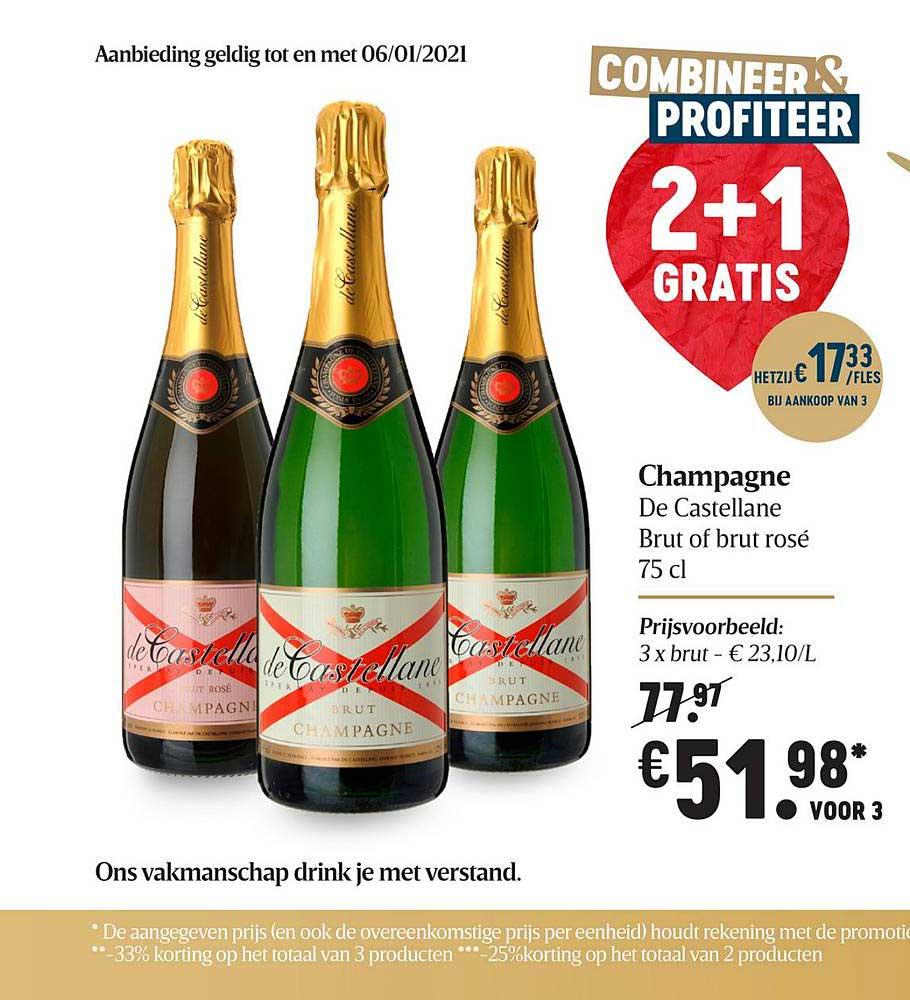 Delhaize Champagne De Castellane