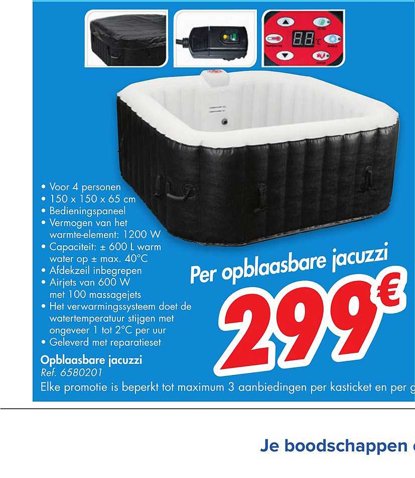 Carrefour Opblaasbare Jacuzzi