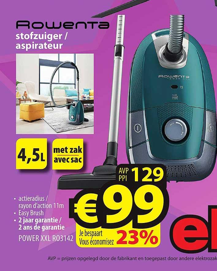 ElectroStock Rowenta Stofzuiger - Aspirateur