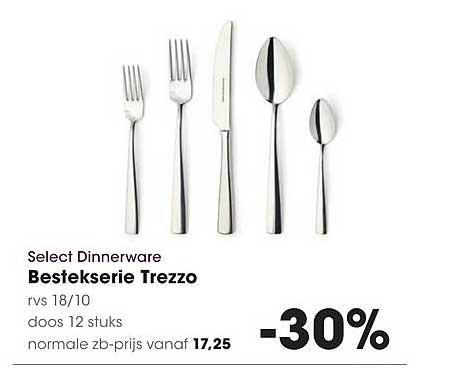 Hanos Select Dinnerware Bestekserie Trezzo