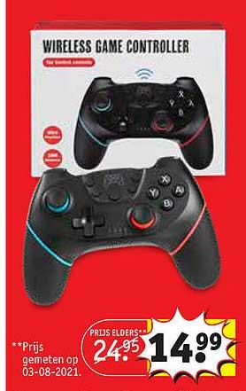 Kruidvat Wireless Game Controller