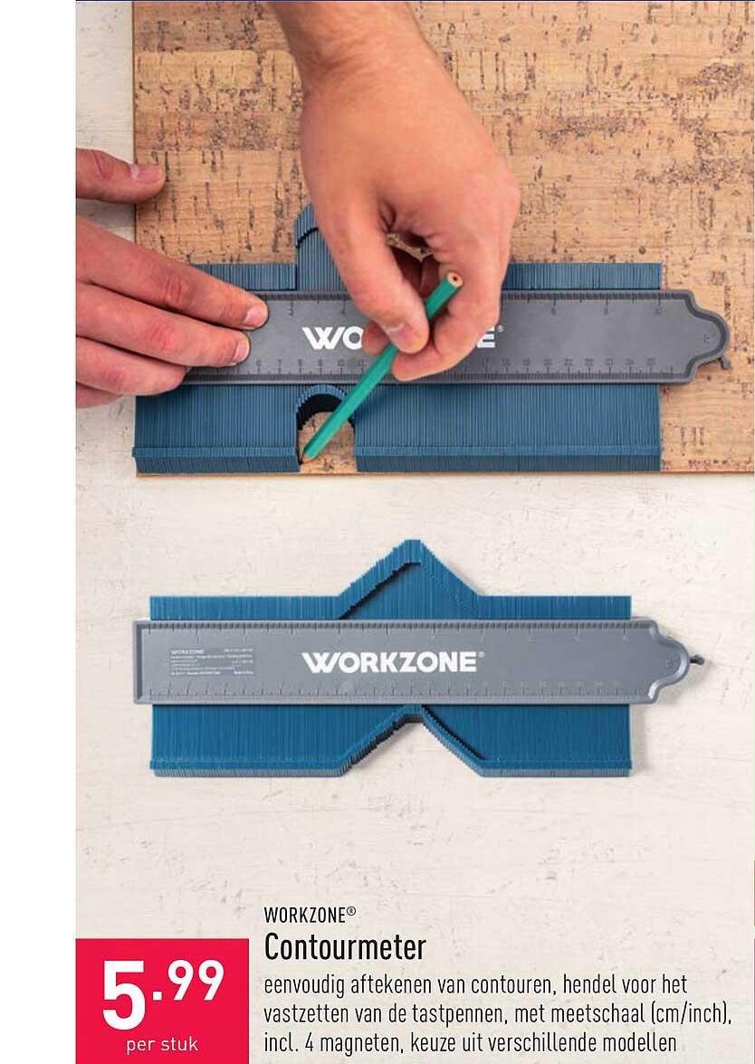 ALDI Workzone Contourmeter