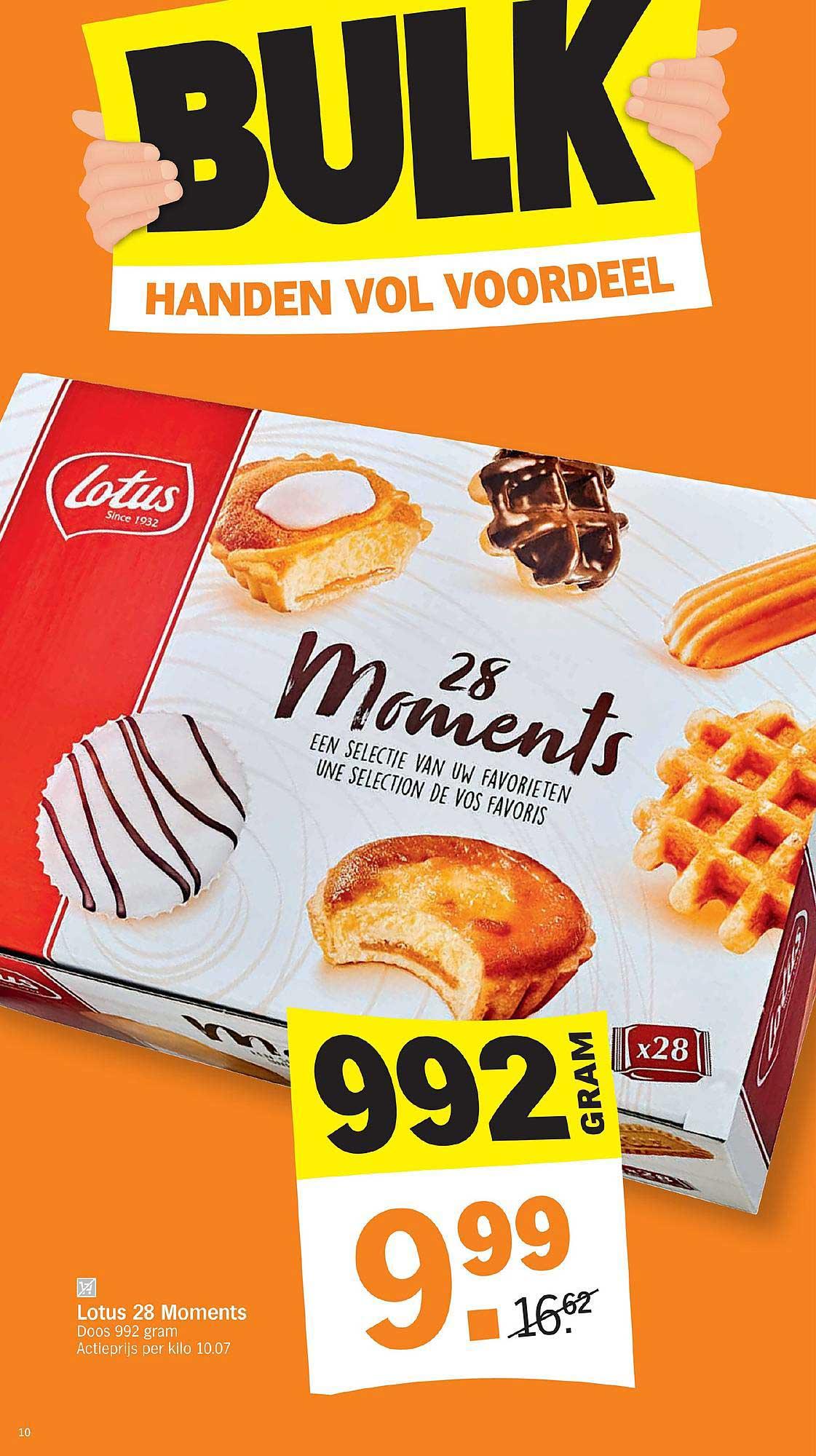 Albert Heijn Lotus 28 Moments