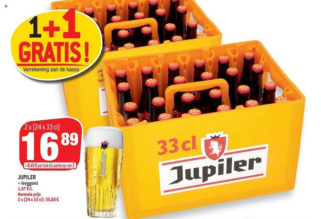 Match Jupiler 1+1 Gratis