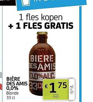 BelBev Biere Des Amis 0,0%