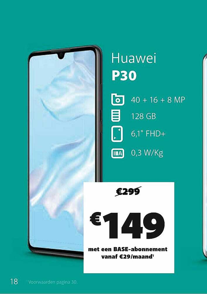 Base Huawei P30