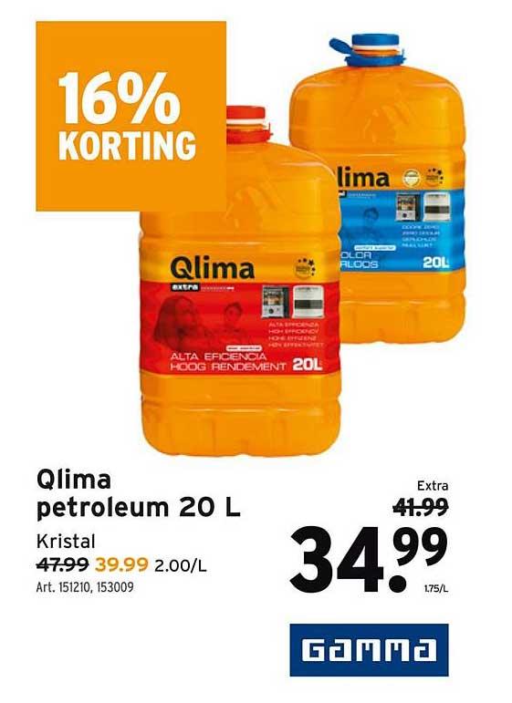 GAMMA Qlima Petroleum 20 L