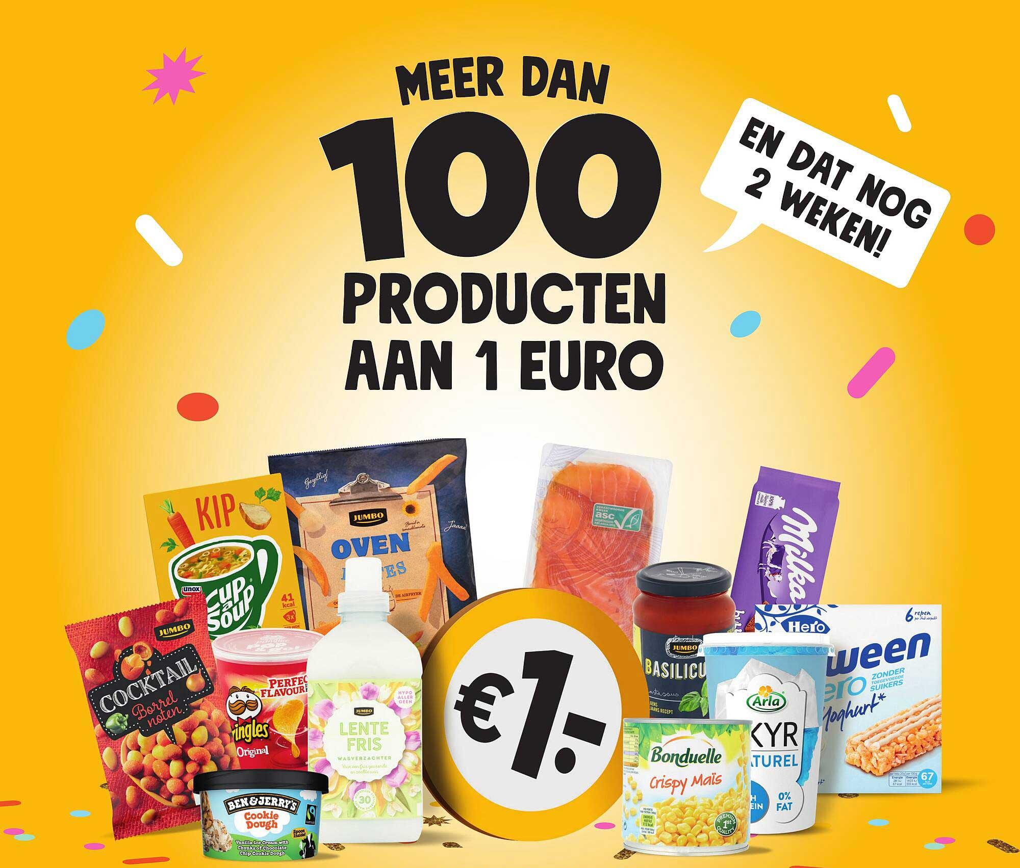 Jumbo Meer Dan 100 Producten Aan 1 Euro