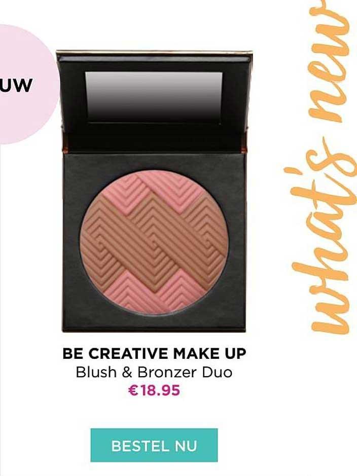 ICI PARIS XL Be Creative Make Up Blush & Bonzer Duo