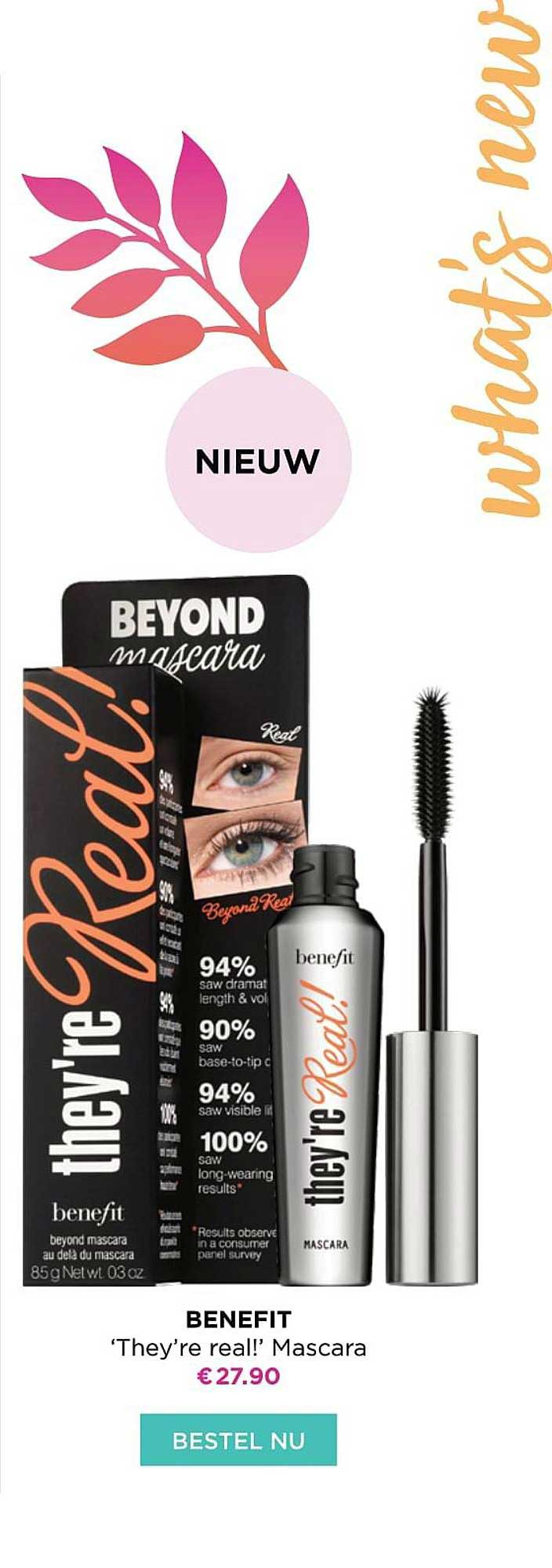 ICI PARIS XL Benefit 'they're Real! Mascara