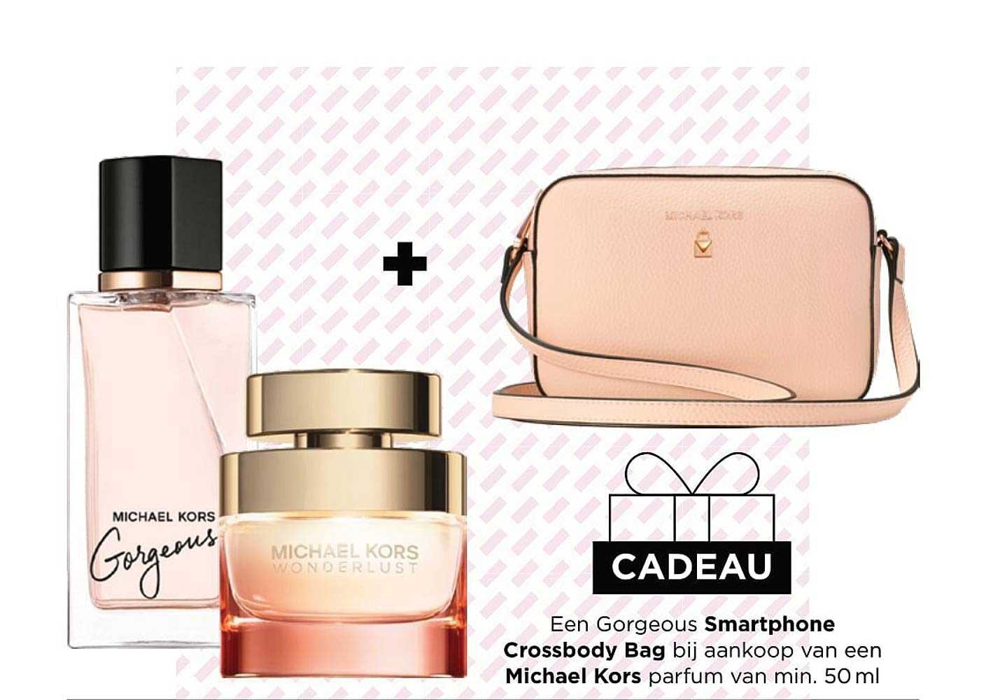 ICI PARIS XL Smartphone Crossbody Bag Michael Kors Parfum