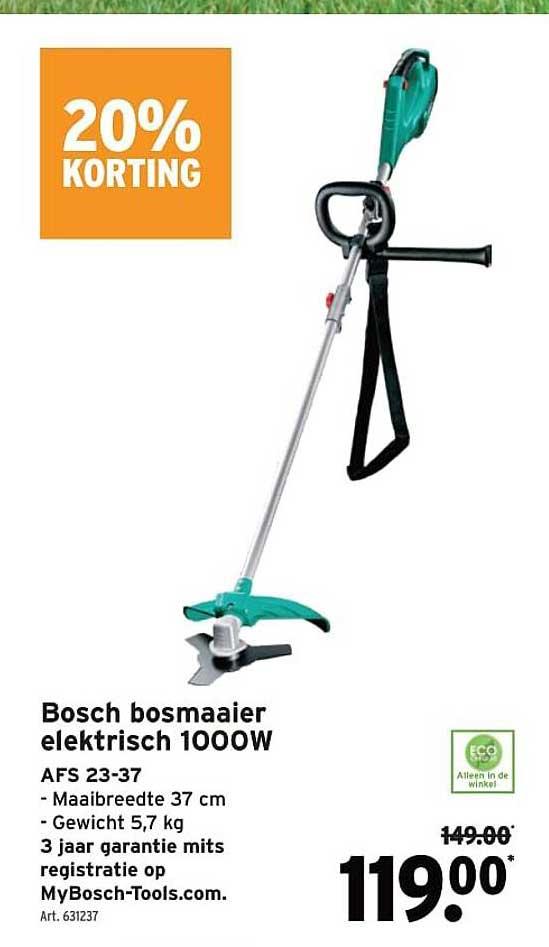 GAMMA Bosch Bosmaaier Elektrisch 1000w