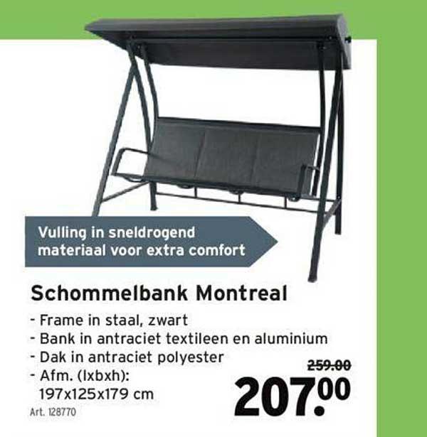 GAMMA Schommelbank Montreal