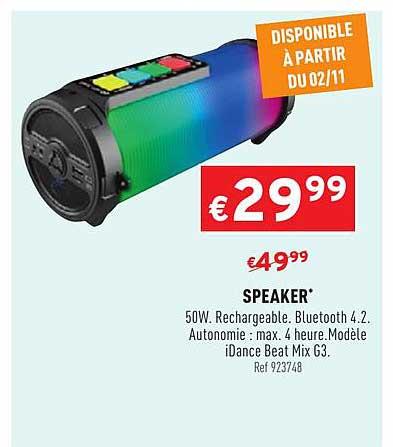 Trafic Speaker