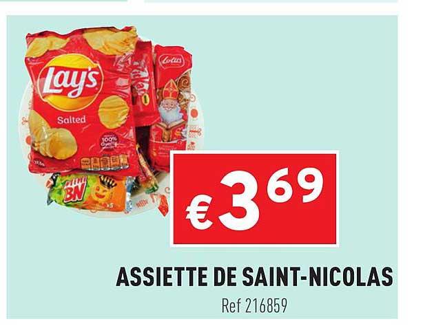 Trafic Assiette De Saint-nicolas