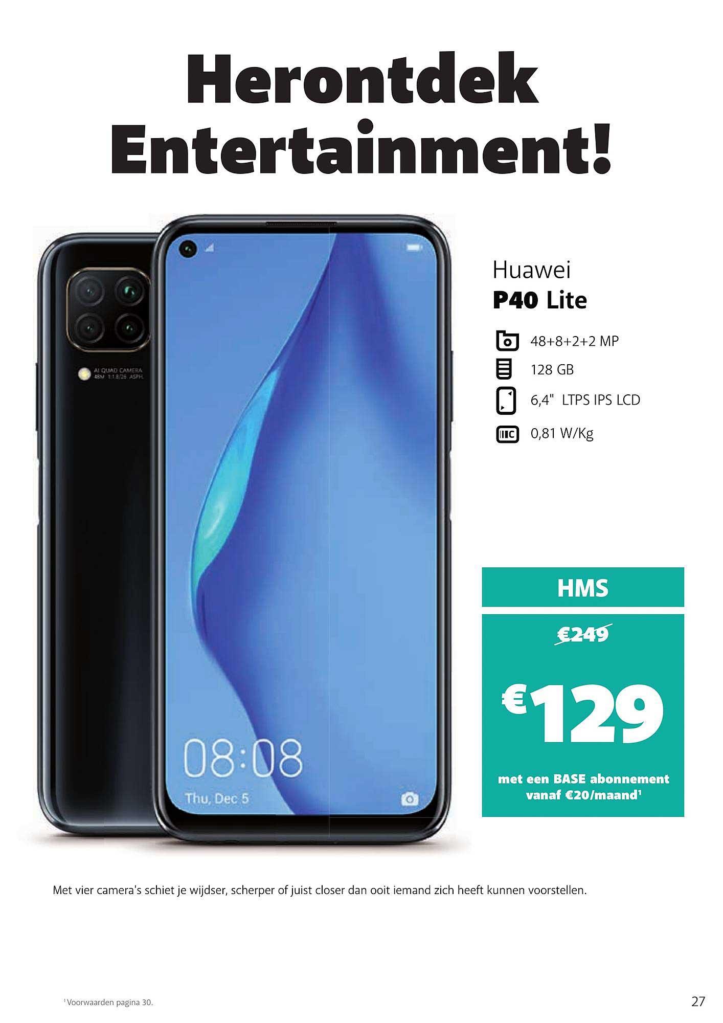 Base Huawei P40 Lite