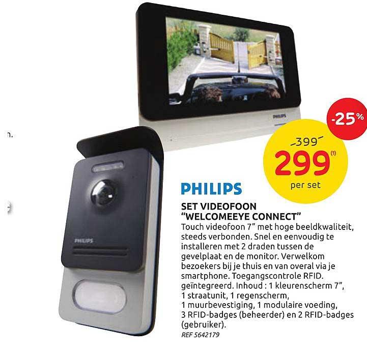 Brico Philips Set Videofoon