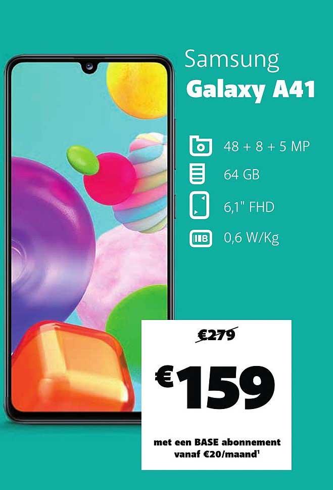 Base Samsung Galaxy A41