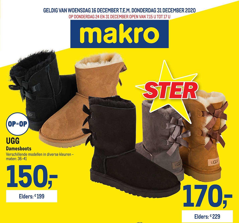 Makro Ugg Damesboots