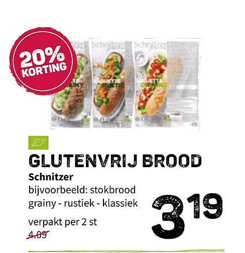 Ekoplaza Glutenvrij Brood Schnitzer