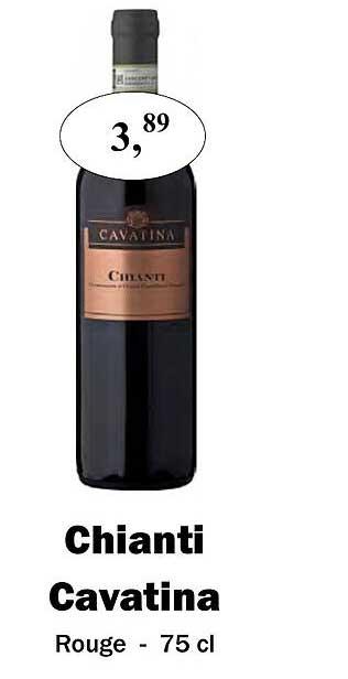 Maconal Food Chianti Cavatina Rouge - 75 Cl