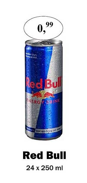 Maconal Food Red Bull 24 X 250 Ml