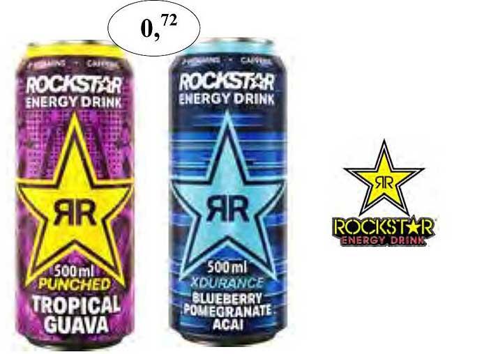 Maconal Food Rockstar Energy Drink