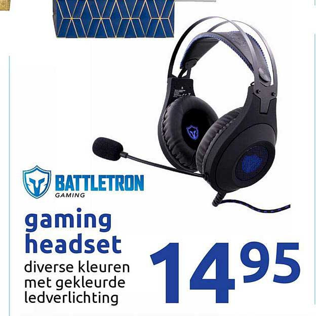 Action Battletron Gaming Headset