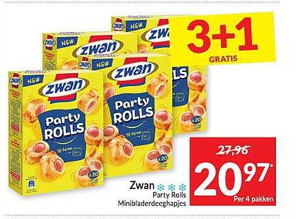 Intermarché Zwan Party Rolls