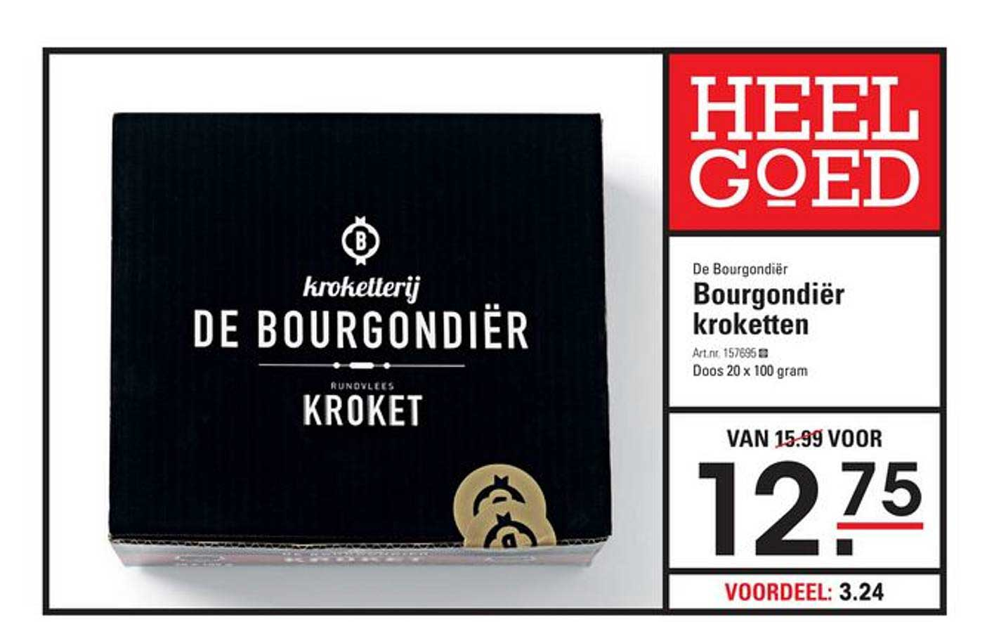 Sligro De Bourgondier Kroketten