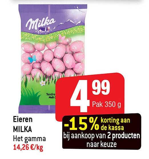 Smatch Eieren Milka