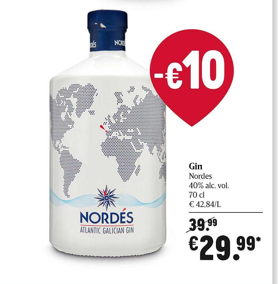 Delhaize Gin Nordes