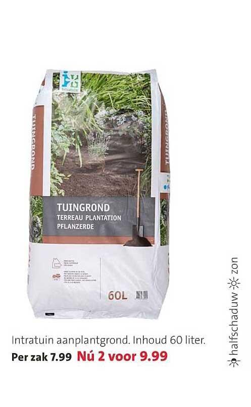Intratuin Intratuin Aanplantgrond 60 Liter