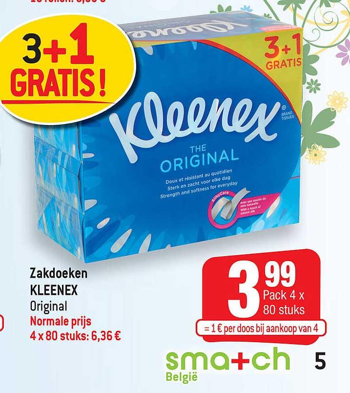 Smatch Zakdoeken Kleenex Original