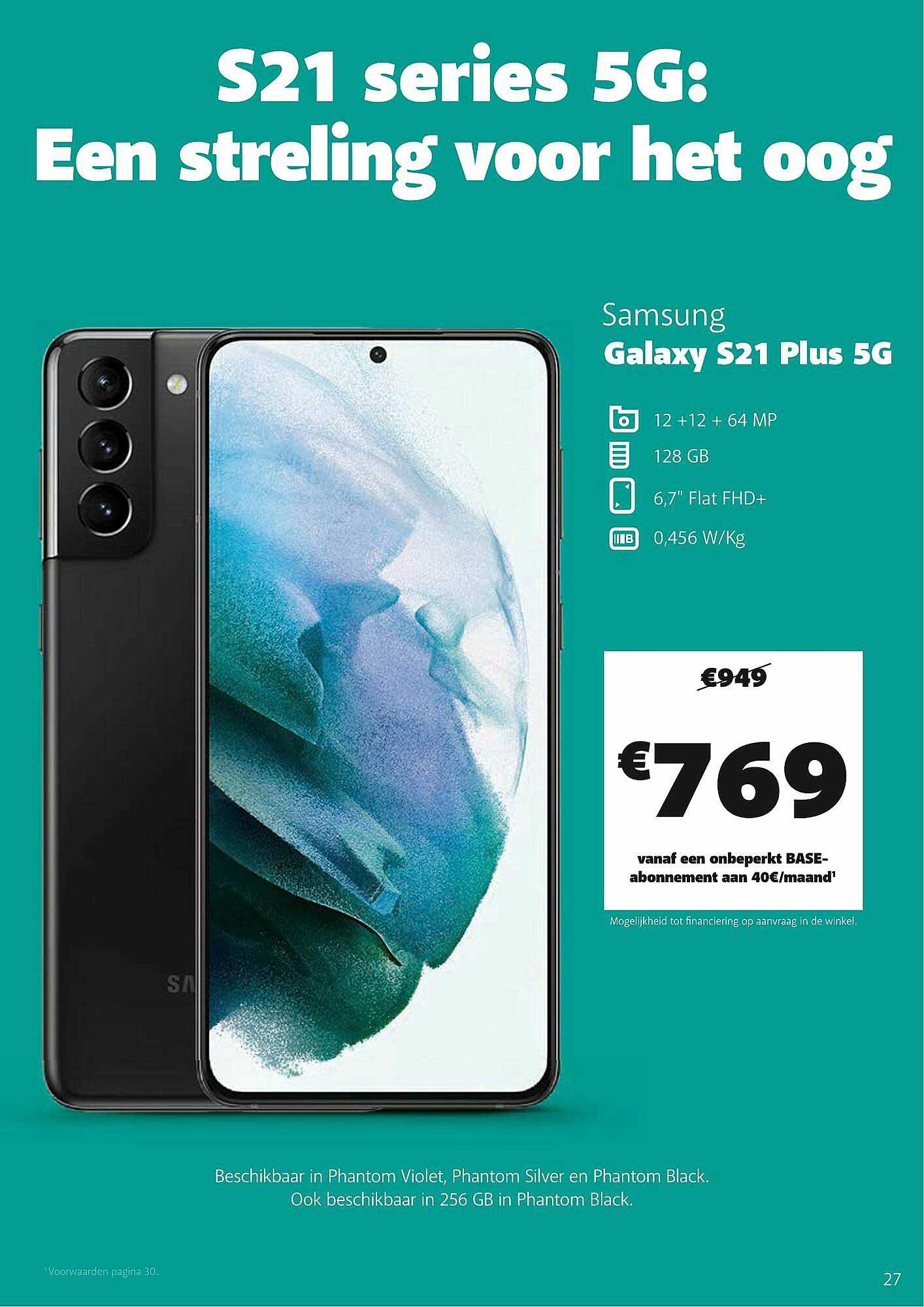 Base Samsung Galaxy S21 Plus 5g