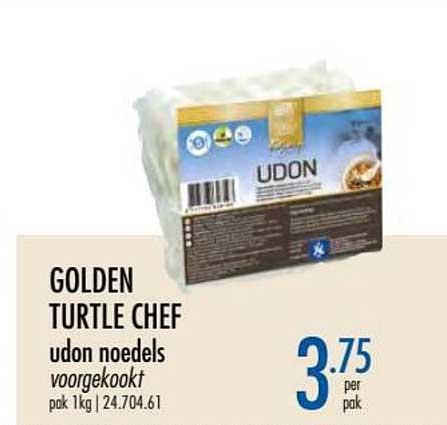 Horeca Totaal Golden Turtle Chef Udon Noedels