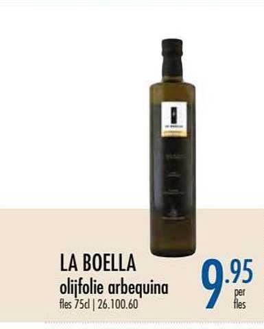 Horeca Totaal La Boella Olijfolie Arbequina