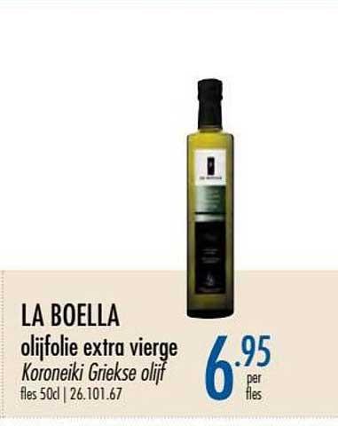 Horeca Totaal La Boella Olijfolie Extra Vierge