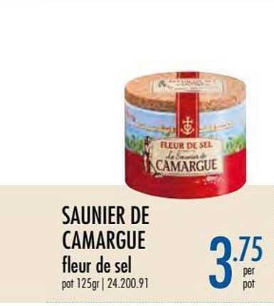 Horeca Totaal Saunier De Camargue Fleur De Sel