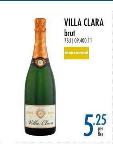 Horeca Totaal Villa Clara Brut