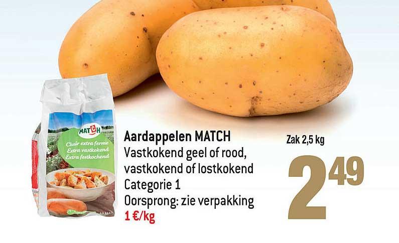 Smatch Aardappelen Match