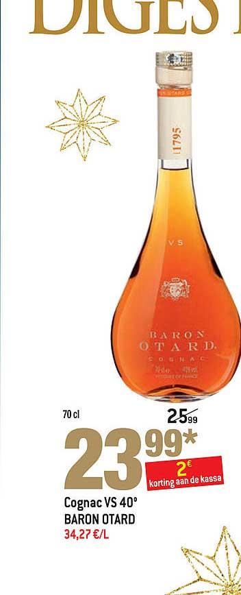 Match Cognac Vs 40 Baron Otard