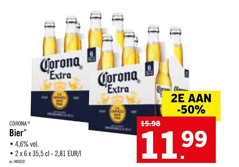 Lidl Corona Bier