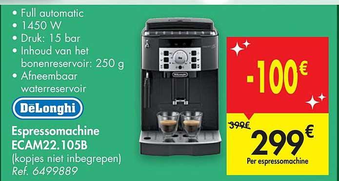 Carrefour Delonghi Espressomachine Ecam22.105b