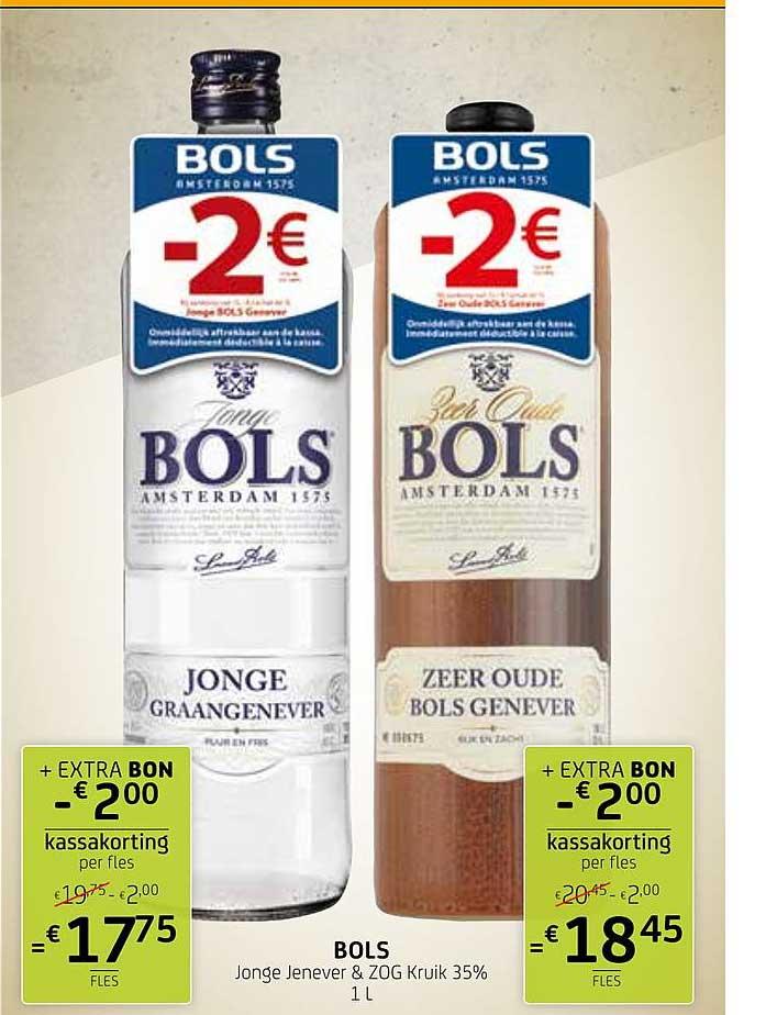 BelBev Bols Jonge Jenever & Zog Kruik 35%